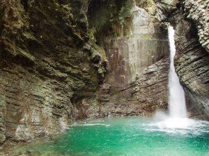 Incredible Slovenia_The smarag water of Kozjak waterfall
